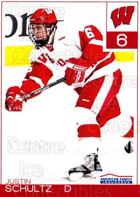 2010-11 Wisconsin Badgers Mens #20 Justin Schultz<br/>2 In Stock - $3.00 each - <a href=https://centericecollectibles.foxycart.com/cart?name=2010-11%20Wisconsin%20Badgers%20Mens%20%2320%20Justin%20Schultz...&quantity_max=2&price=$3.00&code=732833 class=foxycart> Buy it now! </a>