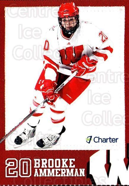 2010-11 Wisconsin Badgers Womens #2 Brooke Ammerman<br/>2 In Stock - $3.00 each - <a href=https://centericecollectibles.foxycart.com/cart?name=2010-11%20Wisconsin%20Badgers%20Womens%20%232%20Brooke%20Ammerman...&quantity_max=2&price=$3.00&code=732871 class=foxycart> Buy it now! </a>