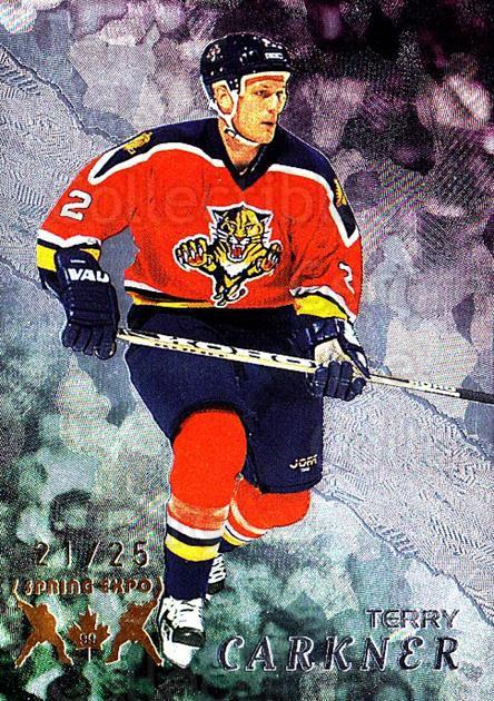 1998-99 Be A Player Spring Expo #207 Terry Carkner<br/>1 In Stock - $10.00 each - <a href=https://centericecollectibles.foxycart.com/cart?name=1998-99%20Be%20A%20Player%20Spring%20Expo%20%23207%20Terry%20Carkner...&quantity_max=1&price=$10.00&code=733068 class=foxycart> Buy it now! </a>