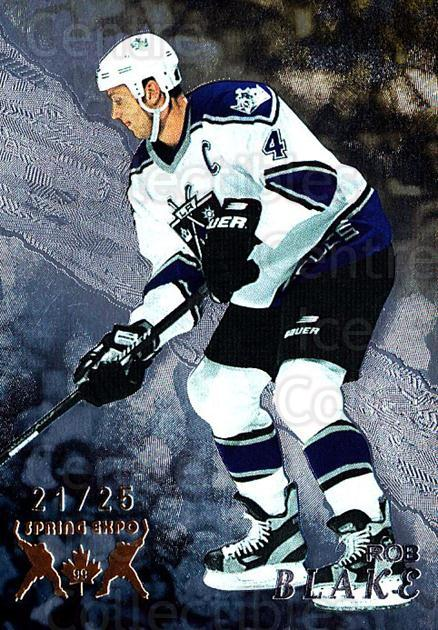 1998-99 Be A Player Spring Expo #212 Rob Blake<br/>1 In Stock - $10.00 each - <a href=https://centericecollectibles.foxycart.com/cart?name=1998-99%20Be%20A%20Player%20Spring%20Expo%20%23212%20Rob%20Blake...&quantity_max=1&price=$10.00&code=733073 class=foxycart> Buy it now! </a>