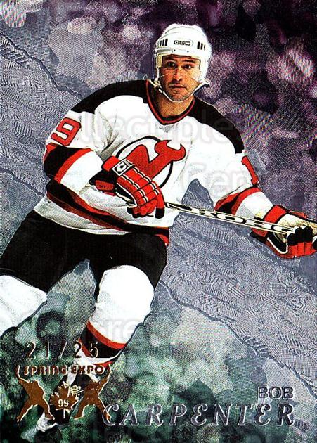 1998-99 Be A Player Spring Expo #228 Bob Carpenter<br/>1 In Stock - $10.00 each - <a href=https://centericecollectibles.foxycart.com/cart?name=1998-99%20Be%20A%20Player%20Spring%20Expo%20%23228%20Bob%20Carpenter...&quantity_max=1&price=$10.00&code=733085 class=foxycart> Buy it now! </a>