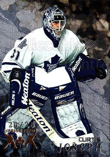 1998-99 Be A Player Spring Expo #284 Curtis Joseph<br/>1 In Stock - $20.00 each - <a href=https://centericecollectibles.foxycart.com/cart?name=1998-99%20Be%20A%20Player%20Spring%20Expo%20%23284%20Curtis%20Joseph...&quantity_max=1&price=$20.00&code=733141 class=foxycart> Buy it now! </a>