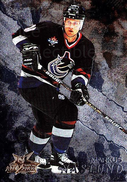 1998-99 Be A Player AS Game #140 Markus Naslund<br/>1 In Stock - $10.00 each - <a href=https://centericecollectibles.foxycart.com/cart?name=1998-99%20Be%20A%20Player%20AS%20Game%20%23140%20Markus%20Naslund...&quantity_max=1&price=$10.00&code=733298 class=foxycart> Buy it now! </a>