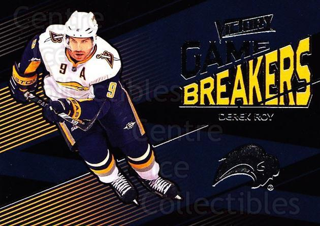 2010-11 UD Victory Game Breakers #DR Derek Roy<br/>1 In Stock - $2.00 each - <a href=https://centericecollectibles.foxycart.com/cart?name=2010-11%20UD%20Victory%20Game%20Breakers%20%23DR%20Derek%20Roy...&quantity_max=1&price=$2.00&code=733534 class=foxycart> Buy it now! </a>