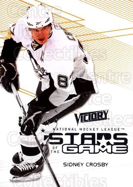 2010-11 UD Victory Stars of the Game #SC Sidney Crosby<br/>1 In Stock - $5.00 each - <a href=https://centericecollectibles.foxycart.com/cart?name=2010-11%20UD%20Victory%20Stars%20of%20the%20Game%20%23SC%20Sidney%20Crosby...&quantity_max=1&price=$5.00&code=733617 class=foxycart> Buy it now! </a>