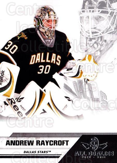 2010-11 Panini All Goalies Up Close #24 Andrew Raycroft<br/>1 In Stock - $3.00 each - <a href=https://centericecollectibles.foxycart.com/cart?name=2010-11%20Panini%20All%20Goalies%20Up%20Close%20%2324%20Andrew%20Raycroft...&quantity_max=1&price=$3.00&code=733803 class=foxycart> Buy it now! </a>