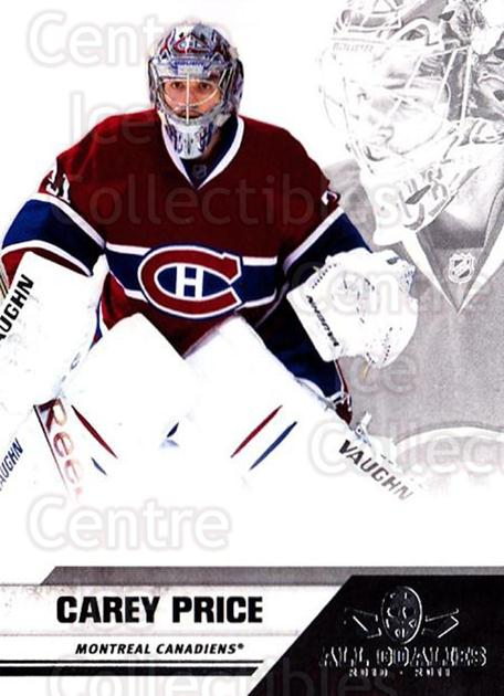 2010-11 Panini All Goalies Up Close #44 Carey Price<br/>1 In Stock - $10.00 each - <a href=https://centericecollectibles.foxycart.com/cart?name=2010-11%20Panini%20All%20Goalies%20Up%20Close%20%2344%20Carey%20Price...&quantity_max=1&price=$10.00&code=733823 class=foxycart> Buy it now! </a>