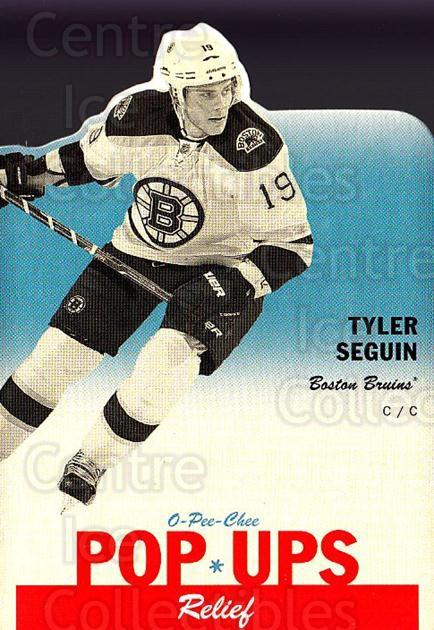 2012-13 O-Pee-Chee Pop Ups #3 Tyler Seguin<br/>1 In Stock - $5.00 each - <a href=https://centericecollectibles.foxycart.com/cart?name=2012-13%20O-Pee-Chee%20Pop%20Ups%20%233%20Tyler%20Seguin...&quantity_max=1&price=$5.00&code=733972 class=foxycart> Buy it now! </a>