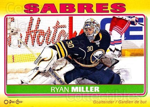 2012-13 O-Pee-Chee Stickers #15 Ryan Miller<br/>1 In Stock - $2.00 each - <a href=https://centericecollectibles.foxycart.com/cart?name=2012-13%20O-Pee-Chee%20Stickers%20%2315%20Ryan%20Miller...&quantity_max=1&price=$2.00&code=734034 class=foxycart> Buy it now! </a>