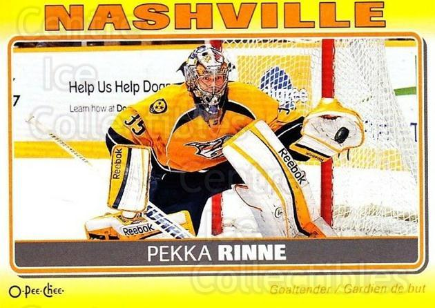 2012-13 O-Pee-Chee Stickers #59 Pekka Rinne<br/>1 In Stock - $2.00 each - <a href=https://centericecollectibles.foxycart.com/cart?name=2012-13%20O-Pee-Chee%20Stickers%20%2359%20Pekka%20Rinne...&quantity_max=1&price=$2.00&code=734078 class=foxycart> Buy it now! </a>