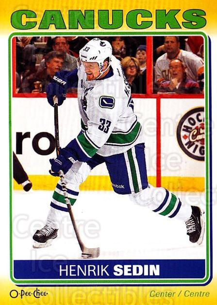 2012-13 O-Pee-Chee Stickers #91 Henrik Sedin<br/>1 In Stock - $2.00 each - <a href=https://centericecollectibles.foxycart.com/cart?name=2012-13%20O-Pee-Chee%20Stickers%20%2391%20Henrik%20Sedin...&quantity_max=1&price=$2.00&code=734110 class=foxycart> Buy it now! </a>