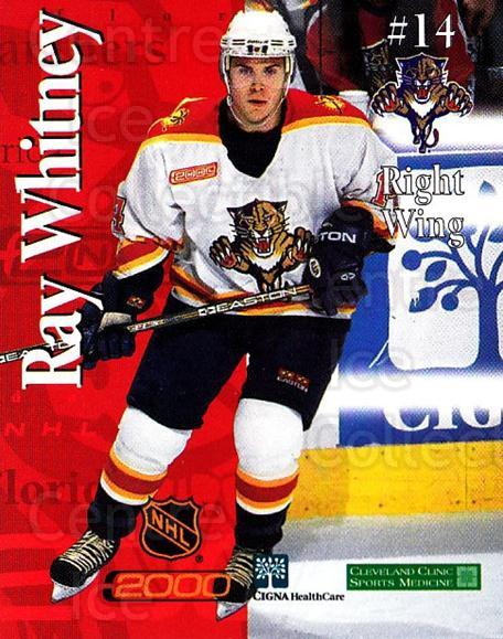 1999-00 Florida Panthers Cigna Health Care #26 Ray Whitney<br/>2 In Stock - $3.00 each - <a href=https://centericecollectibles.foxycart.com/cart?name=1999-00%20Florida%20Panthers%20Cigna%20Health%20Care%20%2326%20Ray%20Whitney...&quantity_max=2&price=$3.00&code=734154 class=foxycart> Buy it now! </a>