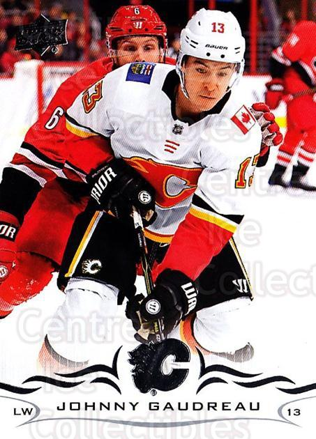 2018-19 Upper Deck #31 Johnny Gaudreau<br/>2 In Stock - $1.00 each - <a href=https://centericecollectibles.foxycart.com/cart?name=2018-19%20Upper%20Deck%20%2331%20Johnny%20Gaudreau...&quantity_max=2&price=$1.00&code=734222 class=foxycart> Buy it now! </a>