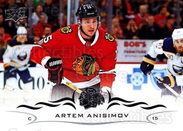 2018-19 Upper Deck #43 Artem Anisimov<br/>12 In Stock - $1.00 each - <a href=https://centericecollectibles.foxycart.com/cart?name=2018-19%20Upper%20Deck%20%2343%20Artem%20Anisimov...&quantity_max=12&price=$1.00&code=734234 class=foxycart> Buy it now! </a>