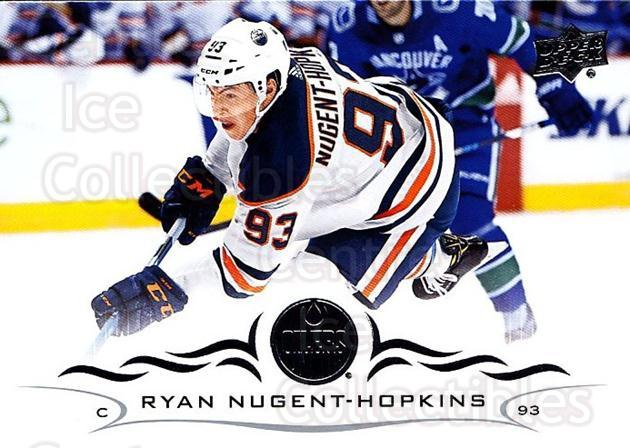 2018-19 Upper Deck #70 Ryan Nugent-Hopkins<br/>12 In Stock - $1.00 each - <a href=https://centericecollectibles.foxycart.com/cart?name=2018-19%20Upper%20Deck%20%2370%20Ryan%20Nugent-Hop...&quantity_max=12&price=$1.00&code=734261 class=foxycart> Buy it now! </a>