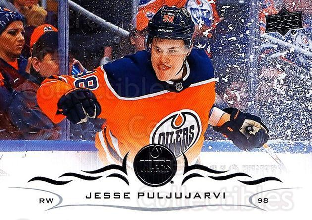 2018-19 Upper Deck #72 Jesse Puljujarvi<br/>12 In Stock - $1.00 each - <a href=https://centericecollectibles.foxycart.com/cart?name=2018-19%20Upper%20Deck%20%2372%20Jesse%20Puljujarv...&quantity_max=12&price=$1.00&code=734263 class=foxycart> Buy it now! </a>