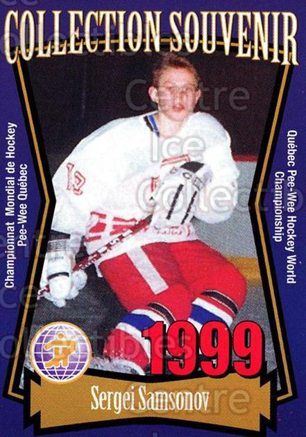 1999 Quebec Pee-Wee Tournament Collection #6 Sergei Samsonov<br/>2 In Stock - $2.00 each - <a href=https://centericecollectibles.foxycart.com/cart?name=1999%20Quebec%20Pee-Wee%20Tournament%20Collection%20%236%20Sergei%20Samsonov...&quantity_max=2&price=$2.00&code=73426 class=foxycart> Buy it now! </a>