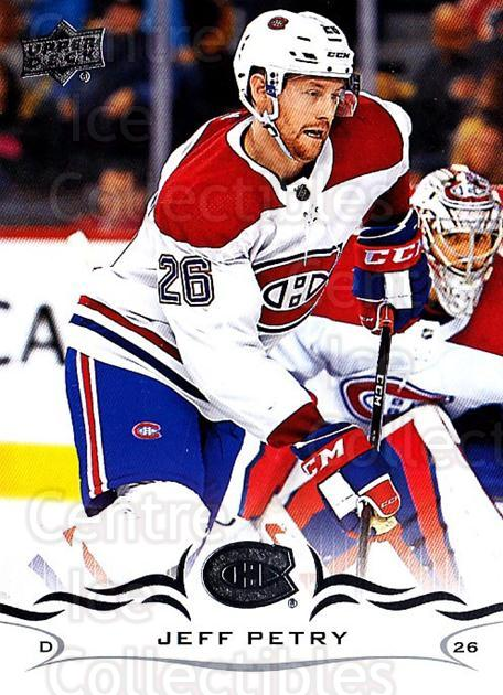 2018-19 Upper Deck #95 Jeff Petry<br/>10 In Stock - $1.00 each - <a href=https://centericecollectibles.foxycart.com/cart?name=2018-19%20Upper%20Deck%20%2395%20Jeff%20Petry...&quantity_max=10&price=$1.00&code=734286 class=foxycart> Buy it now! </a>
