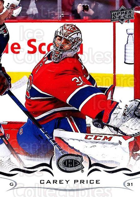 2018-19 Upper Deck #99 Carey Price<br/>21 In Stock - $2.00 each - <a href=https://centericecollectibles.foxycart.com/cart?name=2018-19%20Upper%20Deck%20%2399%20Carey%20Price...&quantity_max=21&price=$2.00&code=734290 class=foxycart> Buy it now! </a>