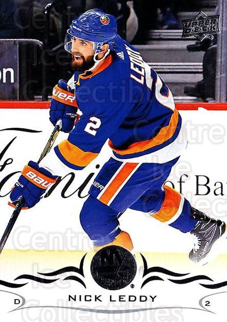 2018-19 Upper Deck #116 Nick Leddy<br/>11 In Stock - $1.00 each - <a href=https://centericecollectibles.foxycart.com/cart?name=2018-19%20Upper%20Deck%20%23116%20Nick%20Leddy...&quantity_max=11&price=$1.00&code=734307 class=foxycart> Buy it now! </a>