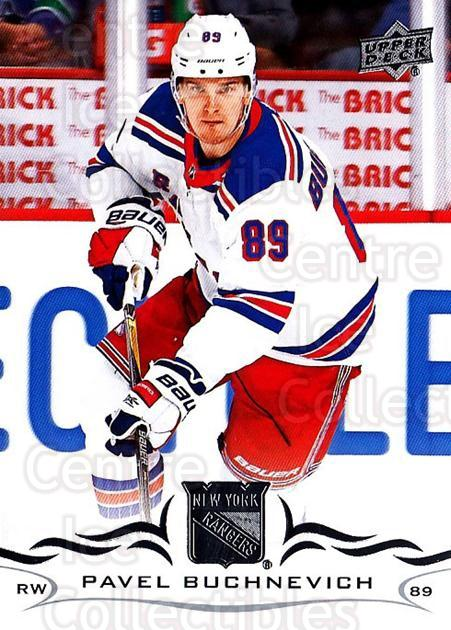 2018-19 Upper Deck #121 Pavel Buchnevich<br/>12 In Stock - $1.00 each - <a href=https://centericecollectibles.foxycart.com/cart?name=2018-19%20Upper%20Deck%20%23121%20Pavel%20Buchnevic...&quantity_max=12&price=$1.00&code=734312 class=foxycart> Buy it now! </a>