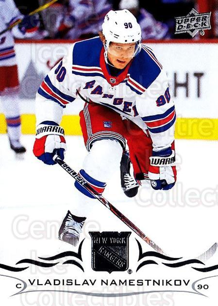 2018-19 Upper Deck #122 Vladislav Namestnikov<br/>10 In Stock - $1.00 each - <a href=https://centericecollectibles.foxycart.com/cart?name=2018-19%20Upper%20Deck%20%23122%20Vladislav%20Names...&quantity_max=10&price=$1.00&code=734313 class=foxycart> Buy it now! </a>