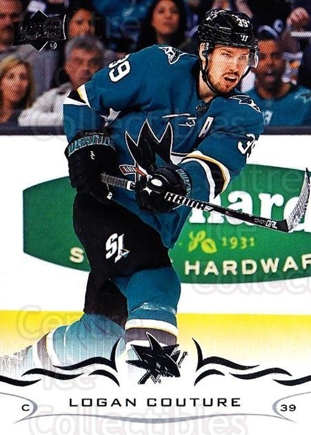 2018-19 Upper Deck #147 Logan Couture<br/>11 In Stock - $1.00 each - <a href=https://centericecollectibles.foxycart.com/cart?name=2018-19%20Upper%20Deck%20%23147%20Logan%20Couture...&quantity_max=11&price=$1.00&code=734338 class=foxycart> Buy it now! </a>