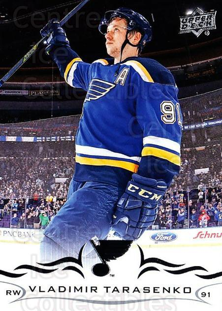 2018-19 Upper Deck #154 Vladimir Tarasenko<br/>12 In Stock - $1.00 each - <a href=https://centericecollectibles.foxycart.com/cart?name=2018-19%20Upper%20Deck%20%23154%20Vladimir%20Tarase...&quantity_max=12&price=$1.00&code=734345 class=foxycart> Buy it now! </a>