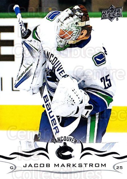 2018-19 Upper Deck #172 Jacob Markstrom<br/>8 In Stock - $1.00 each - <a href=https://centericecollectibles.foxycart.com/cart?name=2018-19%20Upper%20Deck%20%23172%20Jacob%20Markstrom...&quantity_max=8&price=$1.00&code=734363 class=foxycart> Buy it now! </a>