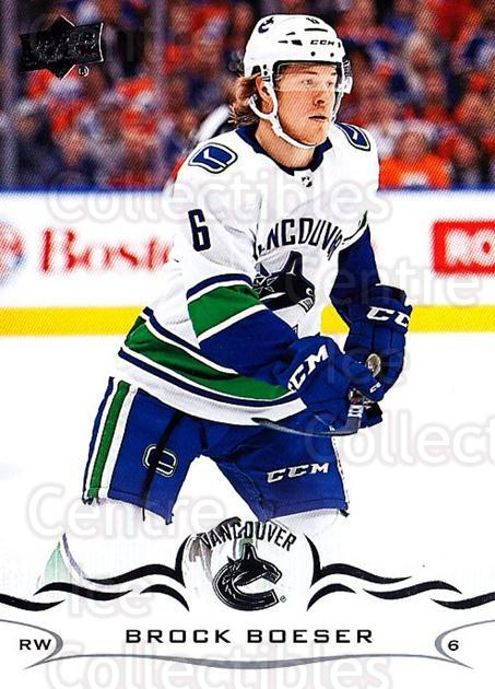 2018-19 Upper Deck #177 Brock Boeser<br/>1 In Stock - $1.00 each - <a href=https://centericecollectibles.foxycart.com/cart?name=2018-19%20Upper%20Deck%20%23177%20Brock%20Boeser...&quantity_max=1&price=$1.00&code=734368 class=foxycart> Buy it now! </a>