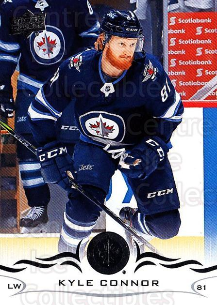 2018-19 Upper Deck #194 Kyle Connor<br/>9 In Stock - $1.00 each - <a href=https://centericecollectibles.foxycart.com/cart?name=2018-19%20Upper%20Deck%20%23194%20Kyle%20Connor...&quantity_max=9&price=$1.00&code=734385 class=foxycart> Buy it now! </a>