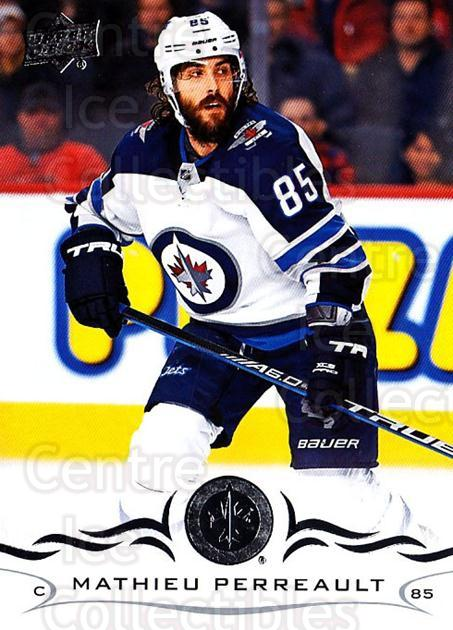 2018-19 Upper Deck #197 Mathieu Perreault<br/>11 In Stock - $1.00 each - <a href=https://centericecollectibles.foxycart.com/cart?name=2018-19%20Upper%20Deck%20%23197%20Mathieu%20Perreau...&quantity_max=11&price=$1.00&code=734388 class=foxycart> Buy it now! </a>