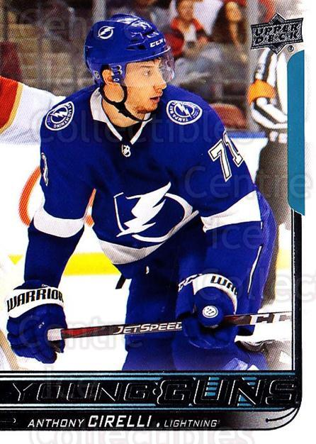 2018-19 Upper Deck #219 Anthony Cirelli<br/>1 In Stock - $10.00 each - <a href=https://centericecollectibles.foxycart.com/cart?name=2018-19%20Upper%20Deck%20%23219%20Anthony%20Cirelli...&quantity_max=1&price=$10.00&code=734410 class=foxycart> Buy it now! </a>
