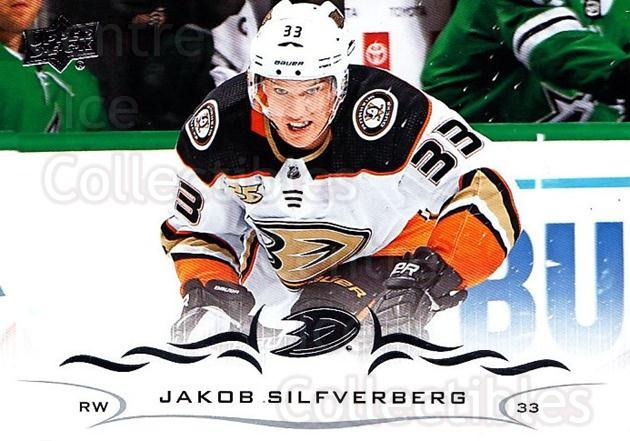 2018-19 Upper Deck #252 Jakob Silfverberg<br/>1 In Stock - $1.00 each - <a href=https://centericecollectibles.foxycart.com/cart?name=2018-19%20Upper%20Deck%20%23252%20Jakob%20Silfverbe...&quantity_max=1&price=$1.00&code=734443 class=foxycart> Buy it now! </a>