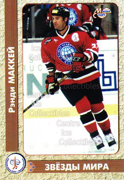 1999-00 Russian Fetisov Tribute #35 Randy McKay<br/>5 In Stock - $3.00 each - <a href=https://centericecollectibles.foxycart.com/cart?name=1999-00%20Russian%20Fetisov%20Tribute%20%2335%20Randy%20McKay...&quantity_max=5&price=$3.00&code=73451 class=foxycart> Buy it now! </a>