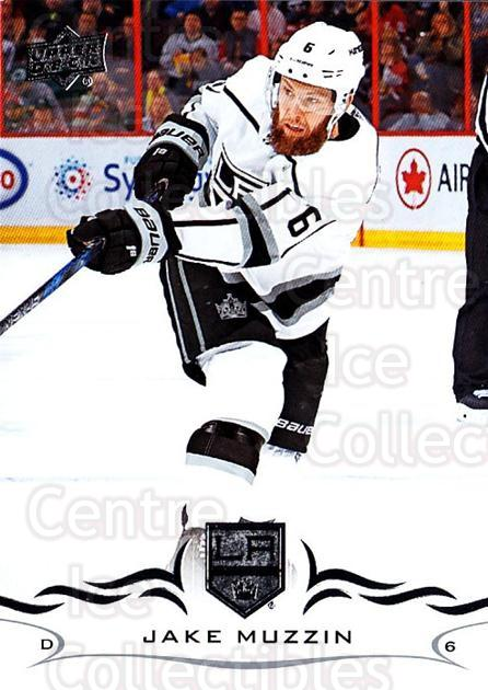2018-19 Upper Deck #338 Jake Muzzin<br/>1 In Stock - $1.00 each - <a href=https://centericecollectibles.foxycart.com/cart?name=2018-19%20Upper%20Deck%20%23338%20Jake%20Muzzin...&quantity_max=1&price=$1.00&code=734529 class=foxycart> Buy it now! </a>