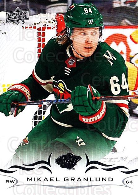 2018-19 Upper Deck #342 Mikael Granlund<br/>2 In Stock - $1.00 each - <a href=https://centericecollectibles.foxycart.com/cart?name=2018-19%20Upper%20Deck%20%23342%20Mikael%20Granlund...&quantity_max=2&price=$1.00&code=734533 class=foxycart> Buy it now! </a>