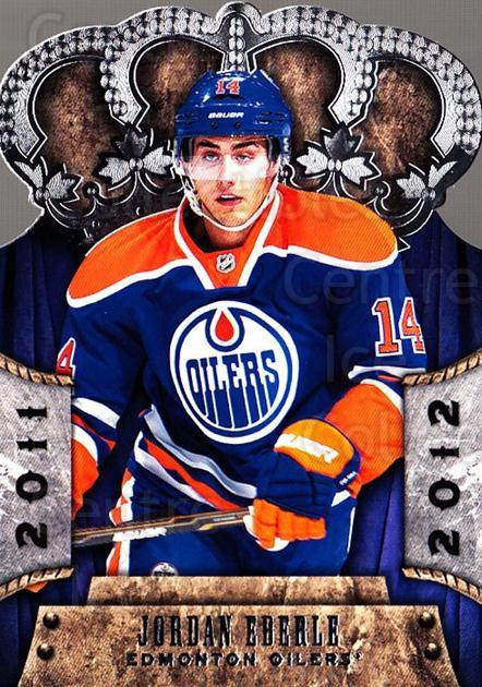 2011-12 Crown Royale #35 Jordan Eberle<br/>2 In Stock - $2.00 each - <a href=https://centericecollectibles.foxycart.com/cart?name=2011-12%20Crown%20Royale%20%2335%20Jordan%20Eberle...&quantity_max=2&price=$2.00&code=734785 class=foxycart> Buy it now! </a>