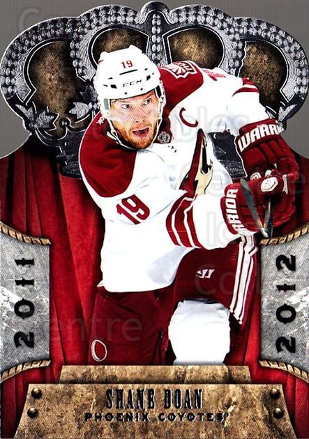 2011-12 Crown Royale #71 Shane Doan<br/>1 In Stock - $2.00 each - <a href=https://centericecollectibles.foxycart.com/cart?name=2011-12%20Crown%20Royale%20%2371%20Shane%20Doan...&quantity_max=1&price=$2.00&code=734821 class=foxycart> Buy it now! </a>