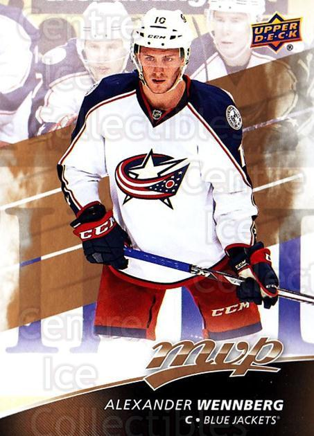 2017-18 Upper Deck MVP #6 Alexander Wennberg<br/>6 In Stock - $1.00 each - <a href=https://centericecollectibles.foxycart.com/cart?name=2017-18%20Upper%20Deck%20MVP%20%236%20Alexander%20Wennb...&quantity_max=6&price=$1.00&code=735008 class=foxycart> Buy it now! </a>