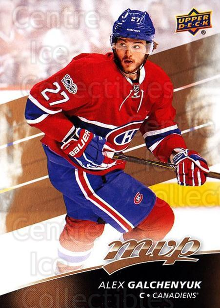 2017-18 Upper Deck MVP #23 Alex Galchenyuk<br/>5 In Stock - $1.00 each - <a href=https://centericecollectibles.foxycart.com/cart?name=2017-18%20Upper%20Deck%20MVP%20%2323%20Alex%20Galchenyuk...&quantity_max=5&price=$1.00&code=735025 class=foxycart> Buy it now! </a>