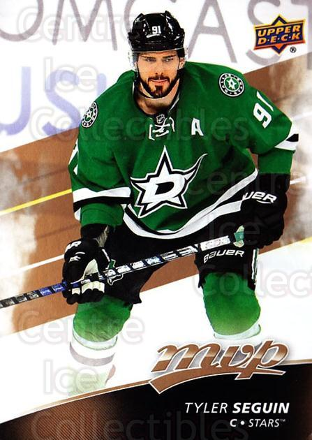 2017-18 Upper Deck MVP #27 Tyler Seguin<br/>6 In Stock - $1.00 each - <a href=https://centericecollectibles.foxycart.com/cart?name=2017-18%20Upper%20Deck%20MVP%20%2327%20Tyler%20Seguin...&quantity_max=6&price=$1.00&code=735029 class=foxycart> Buy it now! </a>