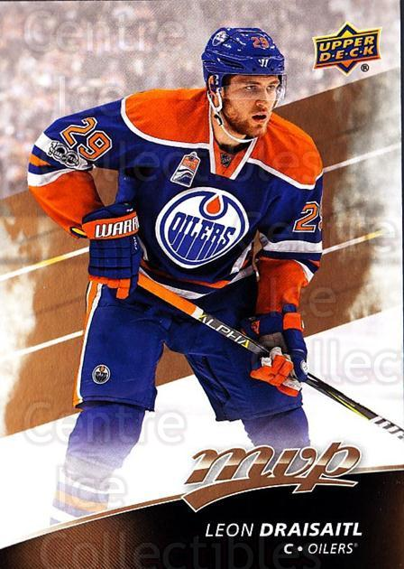 2017-18 Upper Deck MVP #32 Leon Draisaitl<br/>2 In Stock - $1.00 each - <a href=https://centericecollectibles.foxycart.com/cart?name=2017-18%20Upper%20Deck%20MVP%20%2332%20Leon%20Draisaitl...&quantity_max=2&price=$1.00&code=735034 class=foxycart> Buy it now! </a>