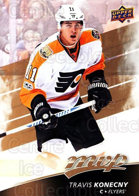 2017-18 Upper Deck MVP #43 Travis Konecny<br/>4 In Stock - $1.00 each - <a href=https://centericecollectibles.foxycart.com/cart?name=2017-18%20Upper%20Deck%20MVP%20%2343%20Travis%20Konecny...&quantity_max=4&price=$1.00&code=735045 class=foxycart> Buy it now! </a>
