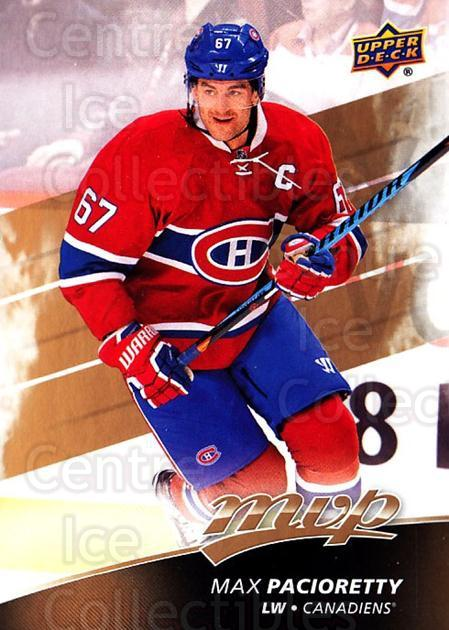 2017-18 Upper Deck MVP #45 Max Pacioretty<br/>6 In Stock - $1.00 each - <a href=https://centericecollectibles.foxycart.com/cart?name=2017-18%20Upper%20Deck%20MVP%20%2345%20Max%20Pacioretty...&quantity_max=6&price=$1.00&code=735047 class=foxycart> Buy it now! </a>