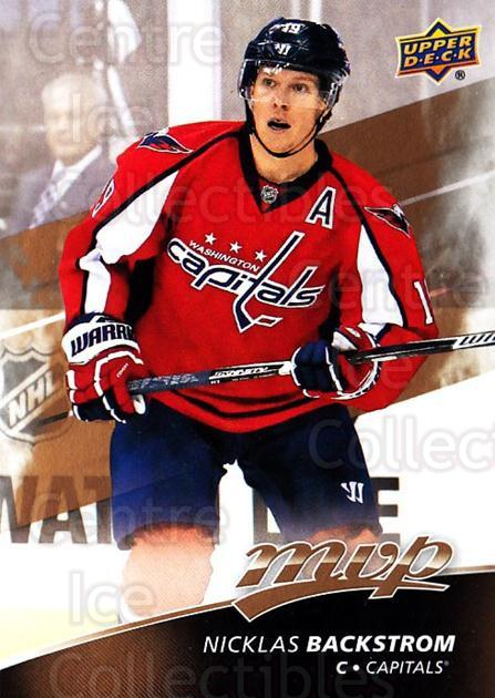 2017-18 Upper Deck MVP #60 Nicklas Backstrom<br/>4 In Stock - $1.00 each - <a href=https://centericecollectibles.foxycart.com/cart?name=2017-18%20Upper%20Deck%20MVP%20%2360%20Nicklas%20Backstr...&quantity_max=4&price=$1.00&code=735062 class=foxycart> Buy it now! </a>