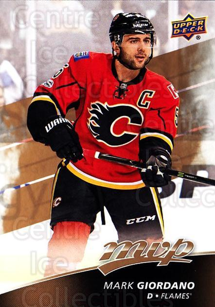 2017-18 Upper Deck MVP #76 Mark Giordano<br/>4 In Stock - $1.00 each - <a href=https://centericecollectibles.foxycart.com/cart?name=2017-18%20Upper%20Deck%20MVP%20%2376%20Mark%20Giordano...&quantity_max=4&price=$1.00&code=735078 class=foxycart> Buy it now! </a>