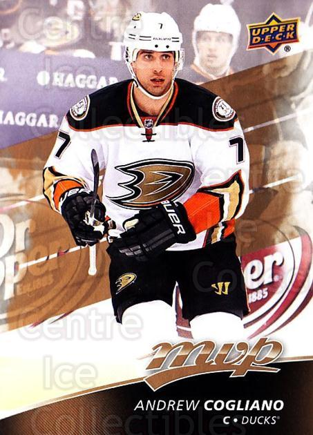 2017-18 Upper Deck MVP #91 Andrew Cogliano<br/>5 In Stock - $1.00 each - <a href=https://centericecollectibles.foxycart.com/cart?name=2017-18%20Upper%20Deck%20MVP%20%2391%20Andrew%20Cogliano...&quantity_max=5&price=$1.00&code=735093 class=foxycart> Buy it now! </a>
