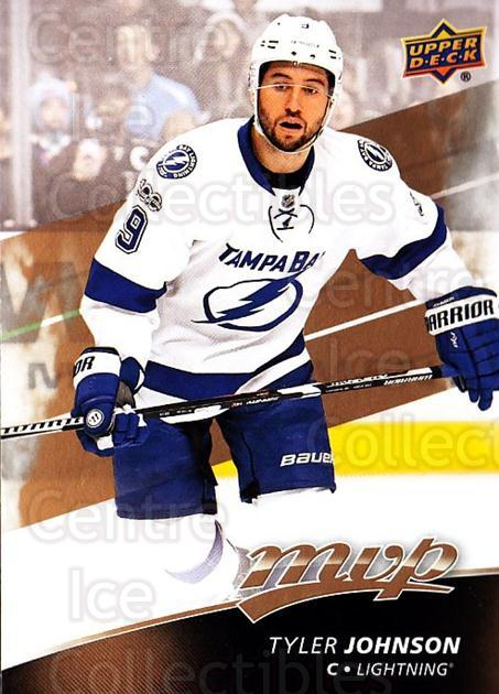 2017-18 Upper Deck MVP #105 Tyler Johnson<br/>5 In Stock - $1.00 each - <a href=https://centericecollectibles.foxycart.com/cart?name=2017-18%20Upper%20Deck%20MVP%20%23105%20Tyler%20Johnson...&quantity_max=5&price=$1.00&code=735107 class=foxycart> Buy it now! </a>