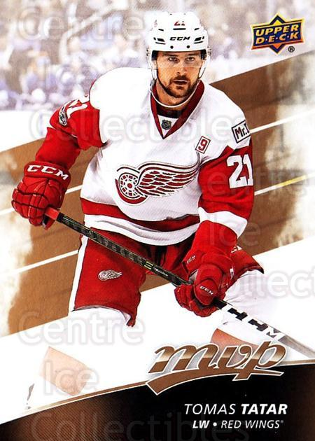 2017-18 Upper Deck MVP #108 Tomas Tatar<br/>6 In Stock - $1.00 each - <a href=https://centericecollectibles.foxycart.com/cart?name=2017-18%20Upper%20Deck%20MVP%20%23108%20Tomas%20Tatar...&quantity_max=6&price=$1.00&code=735110 class=foxycart> Buy it now! </a>